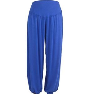 Pants - Ava Costume Blue Harem Pants